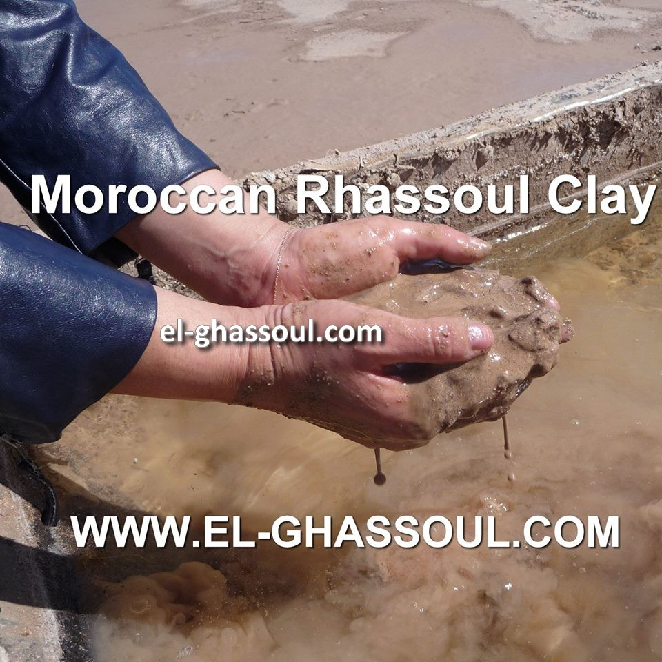 Wholesale Moroccan Rhassoul Clay - Moroccan lava clay - Ghassoul Rhassoul Clay - Natural, Real & Authentic Cosmetic Clay