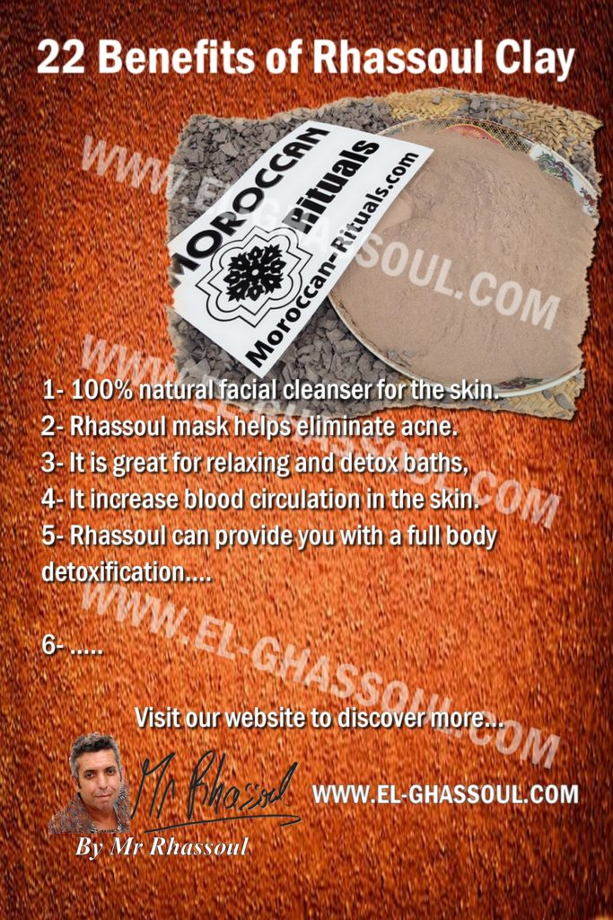 22 Benefits of Rhassoul Clay from Morocco
