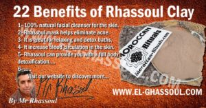 22 Benefits of Rhassoul Clay or Moroccan Ghassoul Clay.